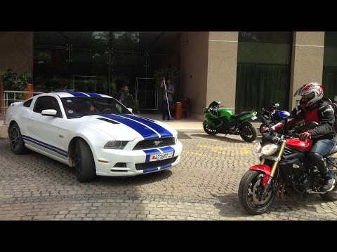 Supercars Bangalore (September 2015) - Vantage, Murcielago, Mustang, 458 & more..