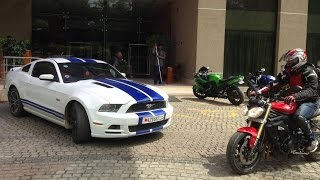 Supercars Bangalore (September 2015) - Vantage, Murcielago, C63 S AMG, 458 & more..