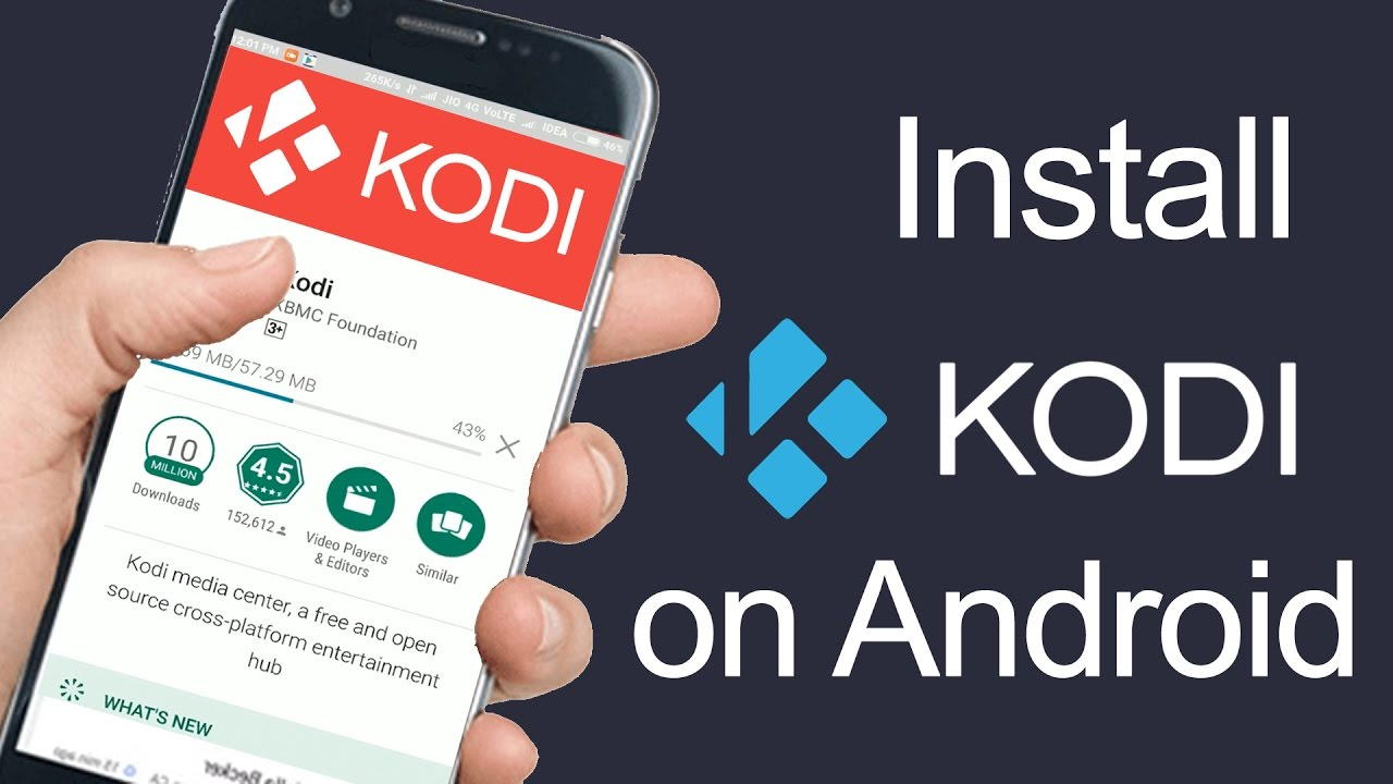 Kodi for android: free download of kodi from the google play store.