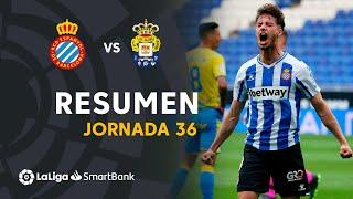 Resumen de RCD Espanyol vs UD Las Palmas (4-0)
