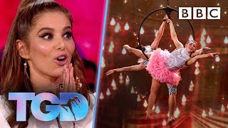 Breathtaking Harry & Eleiyah soar in circus challenge - The Greatest Dancer | LIVE