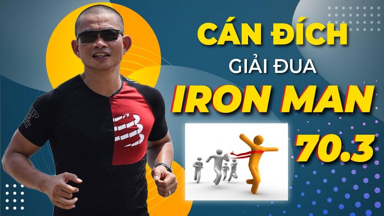 Bạn làm gì khi cán đích giải đua Ironman 70.3 Đà Nẵng 2019 – Bơi đạp xe chạy bộ – Phạm Thành Long