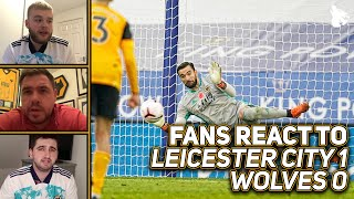 The wolves fans give their thoughts after jamie vardy's penalty goal gives leicester all 3 points.if you want to get involved, let us know and we'll ...