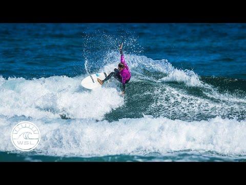 2017 Pro Zarautz Highlights: Short, Fun Day Decides Women's Quarters