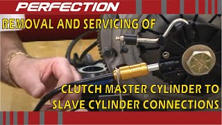 Removal and Servicing of Clutch Master Cylinder to Slave Cylinder Connections thumbnail