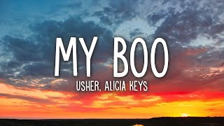 Download lagu Usher - My Boo (Lyrics) ft. Alicia Keys
