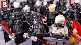 Every LEGO Darth Vader Minifigure EVER MADE! 2019 Update