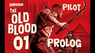 CZ tit. | Let's Play | Wolfenstein The Old Blood | #01 | PILOT | 1080p/50fps