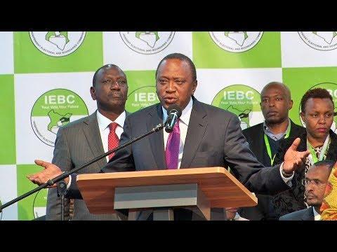 President Kenyatta re-election acceptance speech