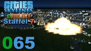 Eskalation von oben 🌇 [S7|065] Let's Play Cities Skylines Parklife DLC
