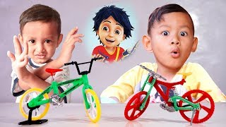 Mainan Sepeda BMX & Sepeda SHIVA ANTV Bisa Dibongkar Pasang, Mainan Kreatif Harga Murah Meriah