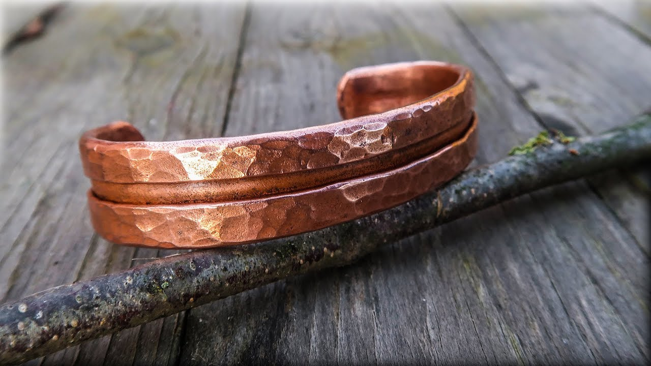 Men or Women Hammered Jewelry Copper Jewelry Copper Hammered Copper Bracelet Cuff Unisex Handmade and Polished Hand Made Bracelet cuff