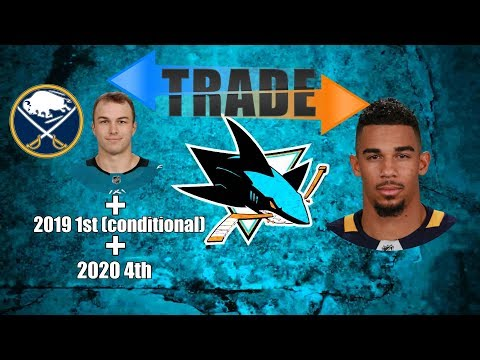 TRADE ALERT: Evander Kane to San Jose - A Sharks Fan's Analysis