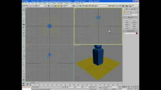 3ds Max 9 Reactor Cloth Beginner Tutorial