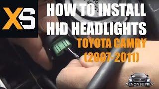 DIY HID Xenon Install: Toyota Camry 2007-2011+