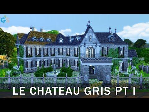 The Sims 4 | Speed Build | Le Chateau Gris Pt. 1