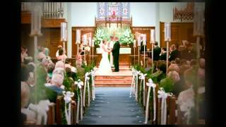 Mt. Tabor Lutheran Wedding in West Columbia & 701 Whaley Reception Video in Columbia, SC