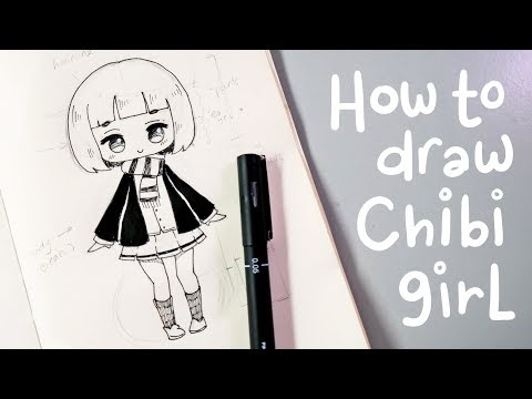 How to Draw a Chibi Girl - Slow Tutorial