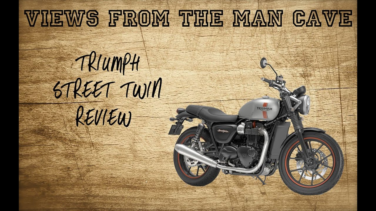 Man Cave Review : Triumph bonneville street twin review first ride impressions youtube