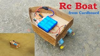 How to make a RC Boat at home easy