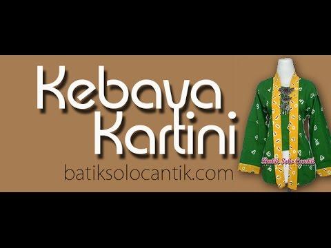 Batik Jumputan Model Kebaya Kartini Modern