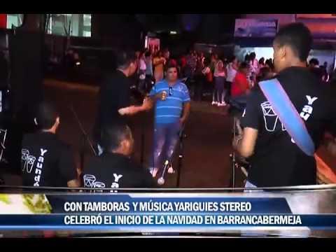 Con tamboras y música Yariguies Stereo celebró el inicio de la navidad en Barrancabermeja