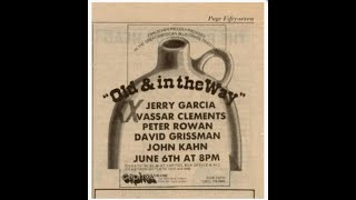 Jerry Shabbos: Old And In The Way 06.06.1973 Passaic, NJ Complete Show SBD