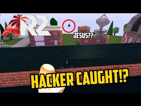 Hacker Caught in AR2?!?