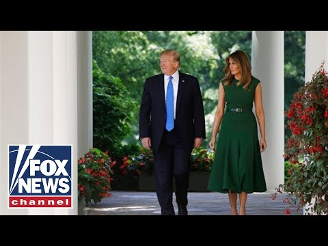 Trump addresses feud with 'The Squad' and tensions with Iran
