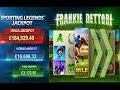 Frankie Dettori Sporting Legends Progressive Jackpot Online Slot from Playtech