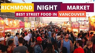 Richmond Night Market | Vancouver's BEST Street Food // Nat and Max
