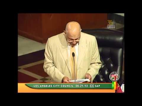 Deanna Lynn Hartman Los Angeles City Council Ajournment