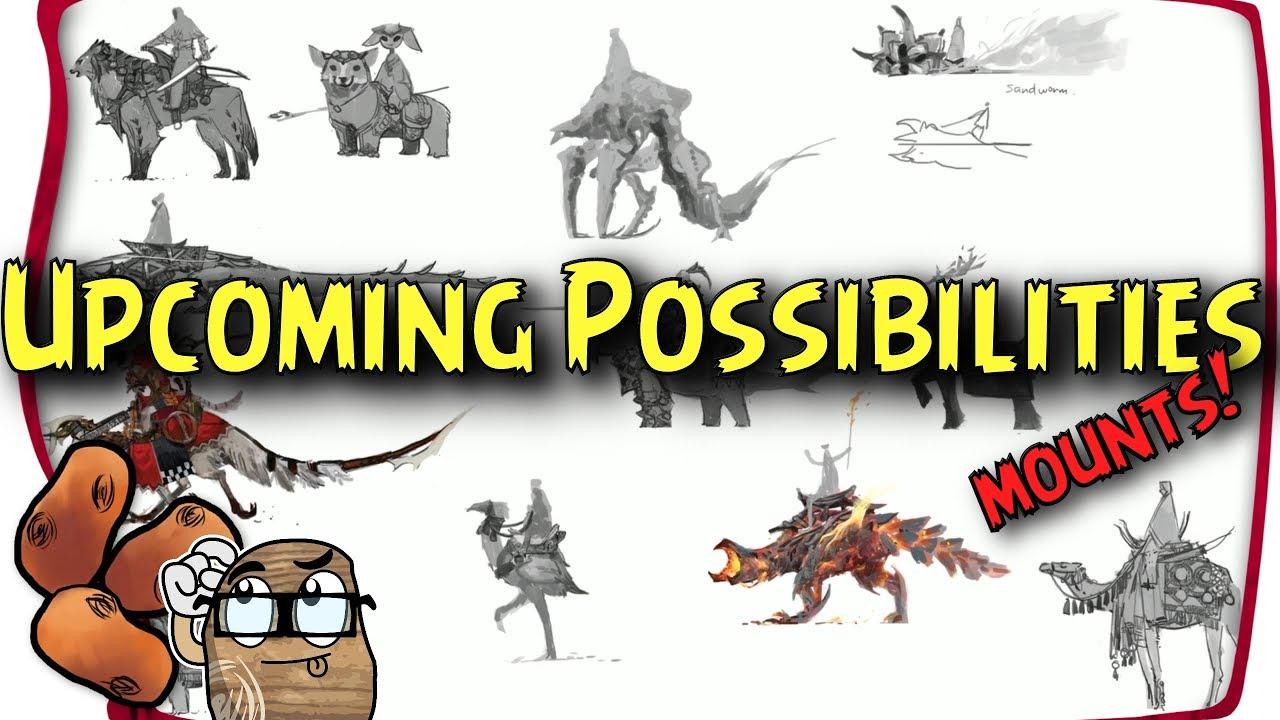 how to get mounts in gw2