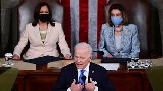 President Joe Biden addresses Congress., From YouTubeVideos