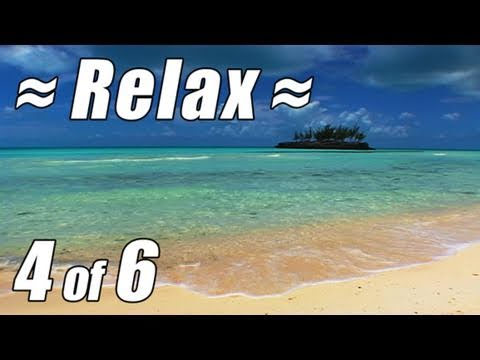 RELAX Best CARIBBEAN BEACH #4 Ocean Waves Sounds for Studying Tropical Island Relaxation Sleep