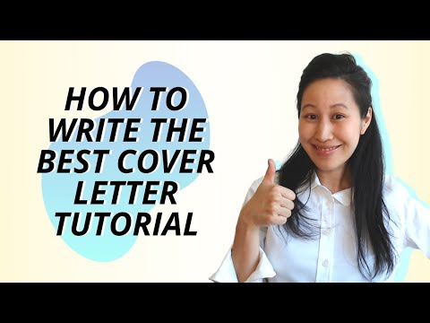How To Write The Best Cover Letter - A Step-by-step Tutorial With Free Template