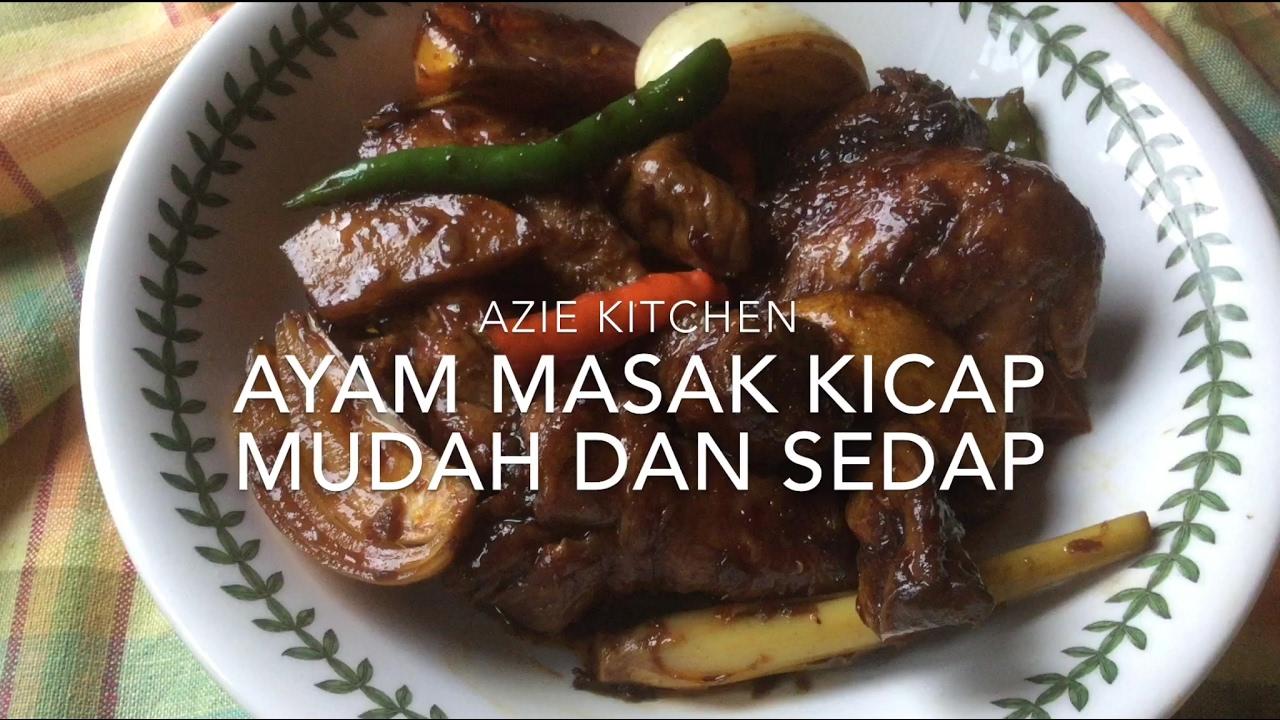 Koleksi Resepi Ayam Masak Simple Dan Mudah Arisa