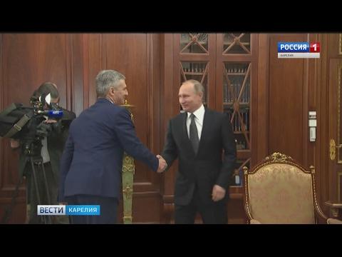 Президент РФ назначил Артура Парфенчикова врио главы Карелии