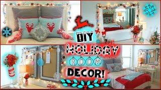 Diy Holiday / Winter Room Decor + Easy Ways To Decorate For Christmas!! ❆ | Jessica Reid
