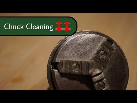 Boley Watchmakers Lathe Restoration - Burnerd Chuck