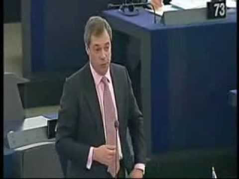 Nigel Farage European Central Bank European Debt