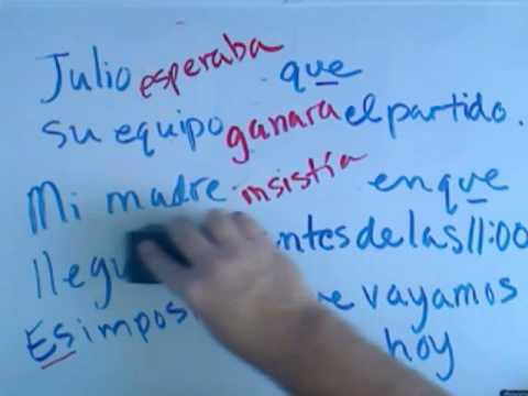 The Imperfect or Past Subjunctive in Spanish