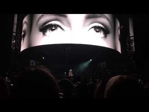 Adele - Hello (Show Opener) - Domain Stadium, Perth, Australia