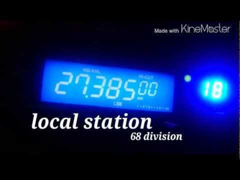Listening to 11 meter band in the 68 division - CB radio uk - 26/04/2015 - 27.385 lsb 27.555 usb