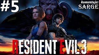 Zagrajmy w Resident Evil 3 Remake PL odc. 5 - Osobisty prześladowca | Hardcore