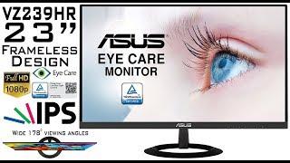 "ASUS VZ239HR   Unboxing, Setup & Tests! 23"" 1080p Full HD, IPS Panel! Best For Multi-Monitor Setup!"