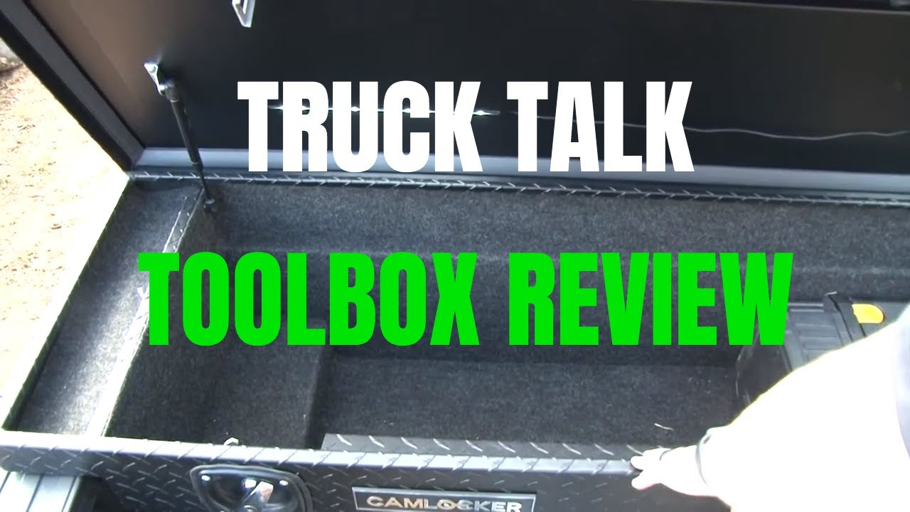 WHAT IS THE Best Truck TOOLBOX??? CamLocker Truck Toolbox