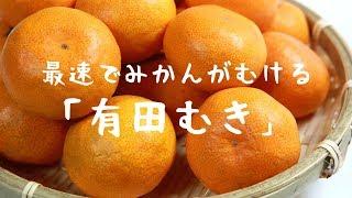 【お天気雑学】最速みかんむき!「有田むき」