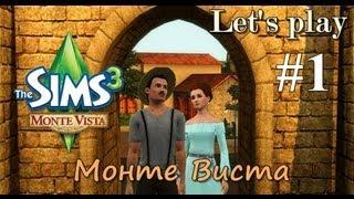 LP / Давай играть The Sims 3 Monte Vista #1 Работа рядом с домом