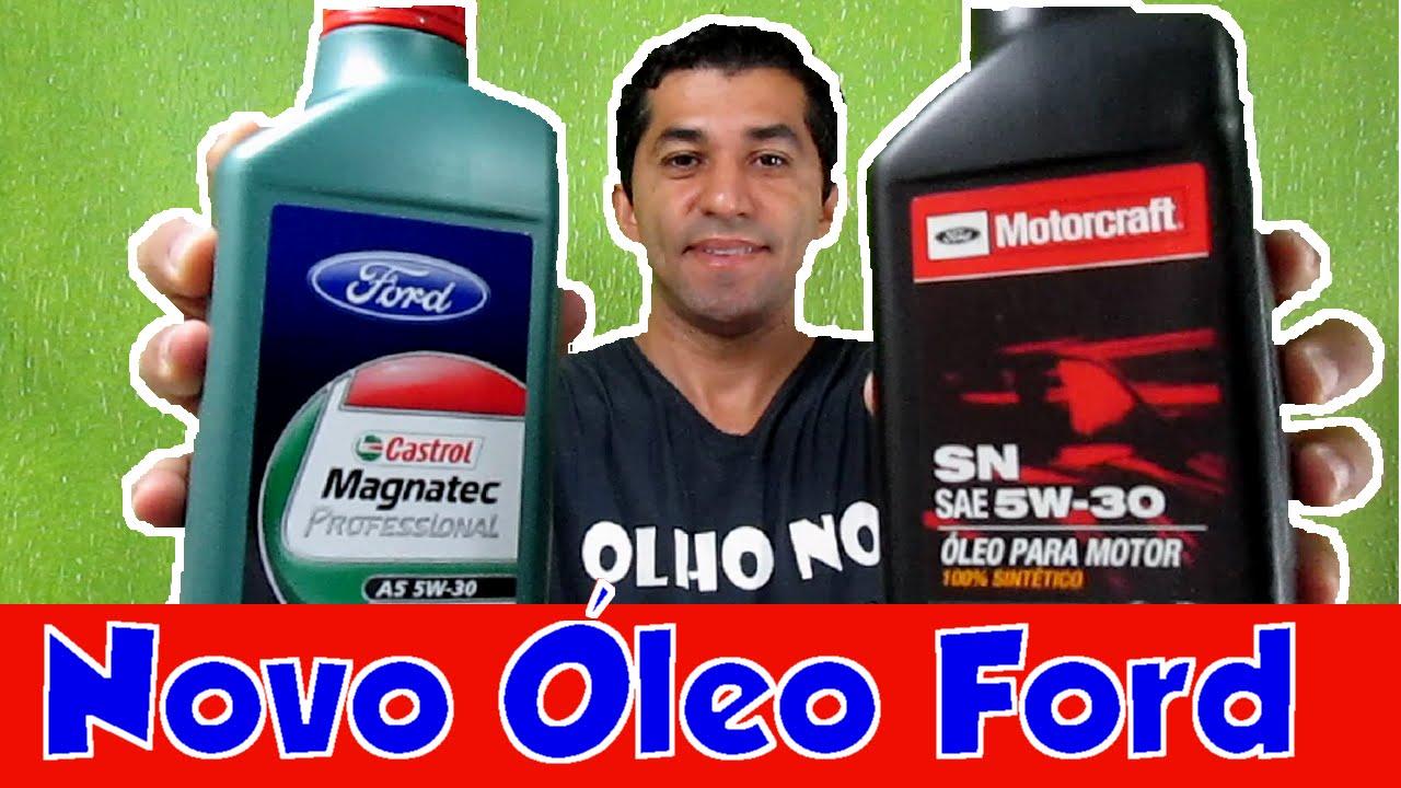 Novo Oleo Genuino Ford